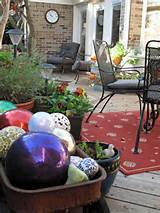 Whimsical garden art