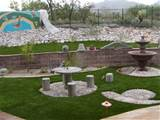 garden landscape rock stone patio design ideas backyard design with
