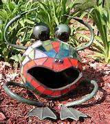 mosaic yoga frog moesache