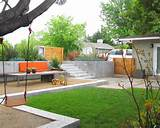 backyard landscaping ideas for kids in contemporary landscape with