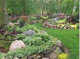 rock garden designs river and act as a natural guiding path through ...