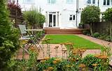 garden design for modern house modern garden decking with small