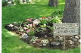 sept our specialty is a small flower garden with rocks if you wish
