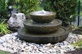 Stone Water Garden Ideas