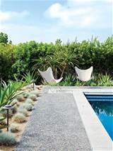 subtle stylish backyard pool landscaping ideas