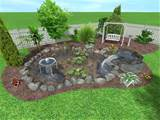 simple landscape design ideas landscape ideas small backyards pictures