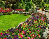 tips to get the beauty flower bed design garden flower bed design