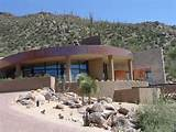 desert landscape design of a home in Canyon Pass, Marana, Arizona