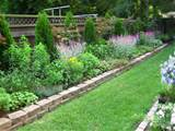 Backyard, Making Backyard Flower Garden Designs to Enhance the Beauty ...
