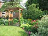 Picture Gallery of the Dreaming Backyard Flower Garden Ideas