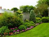 , Outdoor Flower Ideas Backyard Garden Design Backyard Flower Garden ...