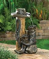 Details about Water FOUNTAIN Indoor Outdoor Garden Decor w/ Pump New
