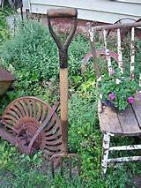 primitive potato pitch hay fork old farmhouse tool rustic garden decor