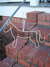 wrought iron horse rustic decor farmhouse primitive by misshettie 22