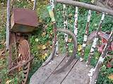 ... -Tool-Sickle-Scythe-Primitive-Rustic-Garden-Halloween-Vtg-Fall-Decor