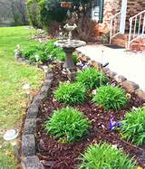 check out other gallery of flower garden ideas in front of house