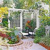 garden trellis ideas - trellis garden decor design [550x550 ...
