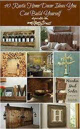 40 DIY Rustic Home Decor Ideas