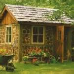 ... Fresh Garden Look in Rustic Garden Décor : Garden Shed Rustic Decor