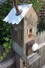 outdoor decor garden decorations handmade birdhouse 4 jpg
