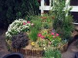 18 photos of the beautiful flower bed ideas for garden