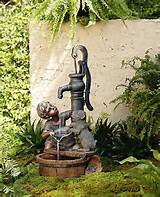 Details about NEW Garden Fountain Outdoor Decor Pond Water Tall Pump ...