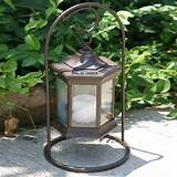 garden patio torche sl solar table lantern torch decor clearance