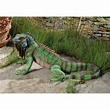 iguana statue home yard garden outdoor decor products gifts