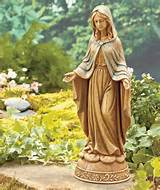 garden decor statues peaceful garden mary garden statue yard outdoor