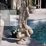 details about garden statues angel figurines large outdoor garden
