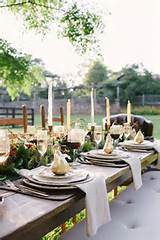 Interior Design, Scenic Outdoor Thanksgiving Dinner Decor Ideas With ...