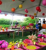 Fun Decor Ideas For Garden Parties