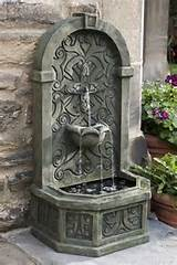 ... Outdoor Wall Fountain by Outdoor Classics traditional outdoor