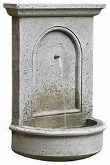 ... Wall Garden Water Fountain, Natural contemporary outdoor fountains