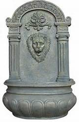 ... Demand Wall Fountain, French Limestone contemporary outdoor fountains