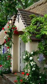 coming up roses english cottage style