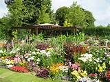 Landscape , 6 Perfect Flower Garden Layout Ideas : Vegetable Garden ...