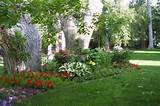Partial Shade Garden Gallery Terrific Garden Ideas Appealing Landscape ...