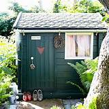 Country garden with shed | Country garden design ideas | Garden ...