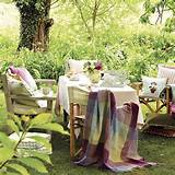 Garden table and chairs | Country garden design ideas | Garden | PHOTO ...