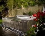 ... Jacuzzi Ideas With Natural Green View Zen Garden Home Exterior Ideas