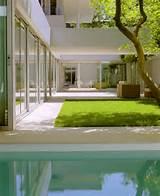 Modern House Design With Zen Garden And Green Roof 1000×1227 px zen ...