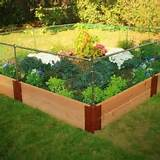 vegetable garden fencing 250x250 Backyard Japanese Zen Design Ideas