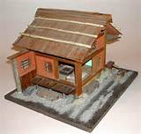 MINIATURE Japanese ZEN TEA HOUSE AND GARDEN