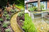 ... Ideas Pictures : Small Pool Garden Design With Natural Stone Decor