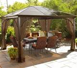 ... design for home garden accessories » Simple Garden Gazebo Ideas