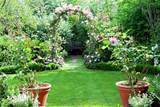 Beautiful home garden