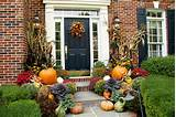 Fall Porch and Yard Decorating Ideas