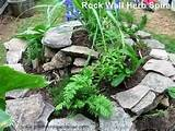 how to build a herb spiral garden