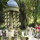 Four Garden Wedding Decorations